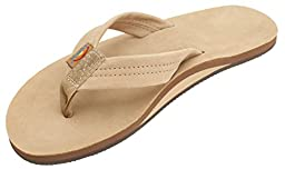 Rainbow Mens Premier Leather Sandal Sierra Brown Size L