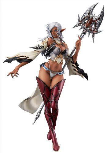 [Max Factory Lineage II: Dark Elf PVC Figure Statue (Brown Skin Version)] (Dragon Pvc Figure)
