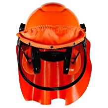 3M (H-706RFK-UV) Hard Hat System H-706RFK-UV, 6-Point Ratchet Suspension, Uvicator(TM), Mesh Visor, Rainshield, Ear Muffs