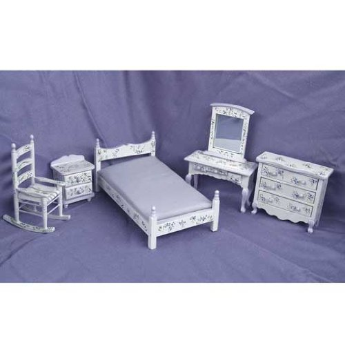 Violet Bedroom set 5 pc