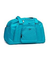 Lug Propeller Gym/Overnight Duffel Bag, Aqua Teal