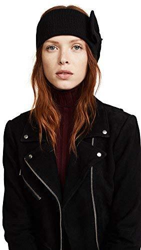 Kate Spade New York Women's Half Bow Headband, Black, One Size (Spade Headband Kate)