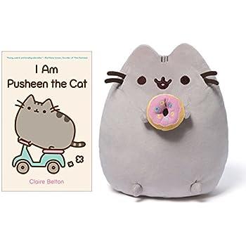 Superior I Am Pusheen The Cat Book, Pusheen Plush With Doughnut Bundle