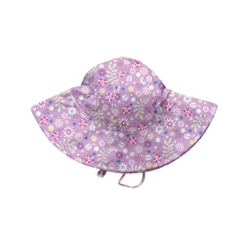 Price comparison product image i play. Baby Girls' Brim Sun Protection Hat, Lavender Wildflower, 9-18 Months