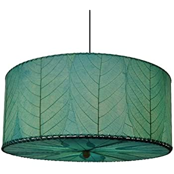 Eangee Home Designs 497 AN 3 Light Drum Large Pendant Light ...