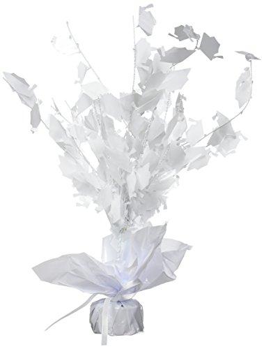 Graduate Cap Gleam 'N Burst Centerpiece (white) Party Accessory  (1 count) - Centerpiece Graduate