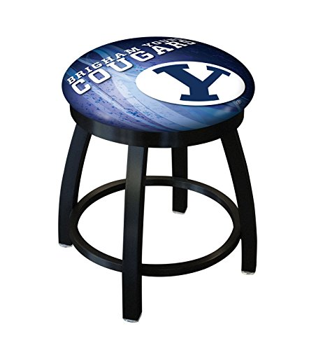 (Holland Bar Stool Officially Licensed L8B2B Brigham Young University Swivel Stool, 18