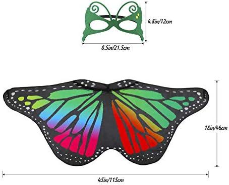 Hifot Dreamy Dance - Chal de mariposa, 2 estilos, diseño de ...