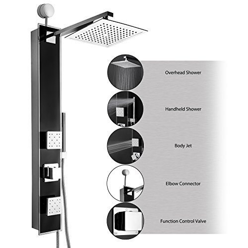 AKDY Tempered Connection Bathroom Multi Function