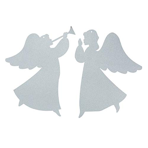 Fun Express - Angel Silhouette Hanging Décor - Spiritually Uplift and Motivate - Perfect for Church