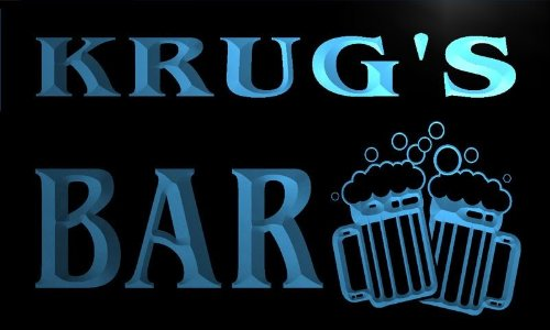 w004174-b-krugs-name-home-bar-pub-beer-mugs-cheers-neon-light-sign