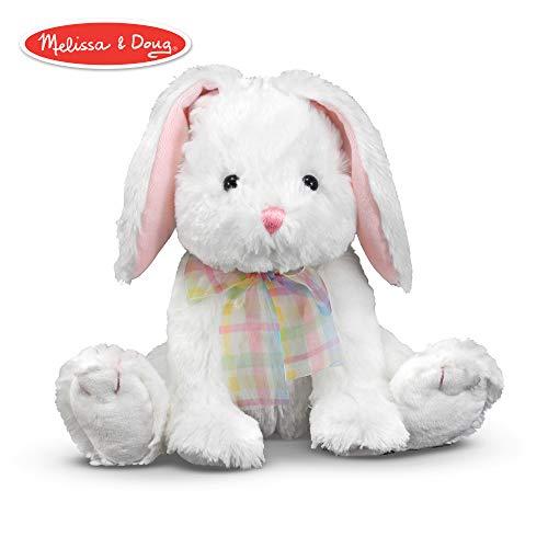 Melissa & Doug Blossom Bunny Rabbit Stuffed - Easter Stuffed Rabbits
