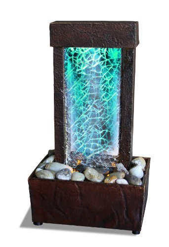Cracked Glass Light Show Led Fountain