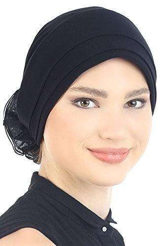 Front Black Headcover Loss Padded for Hair BqvfdSw6