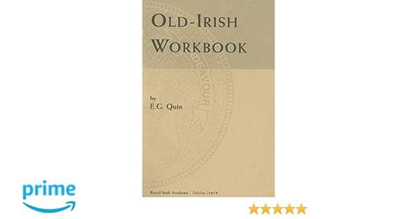 Amazon old irish workbook irish studies 9780901714084 eg amazon old irish workbook irish studies 9780901714084 eg quin books fandeluxe Images