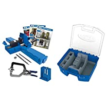 Kreg k5MS Pocket Hole Jig and KTC55 System Organizer Set. The KTC55 is sized for K4 K4MS K5 K3 and many extras