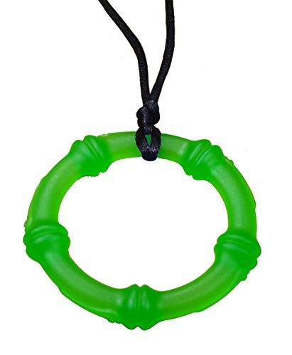 KidKusion Gummi Teething Necklace Bamboo product image