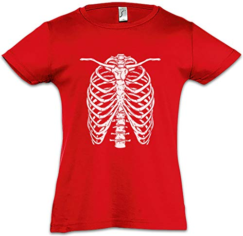 Skeleton I Kids Girls Children T-Shirt Bones Knochen