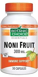 Botanic Choice Noni Fruit 300 Mg, 30 Capsules (Pack of 5)
