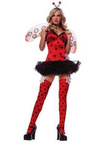 Daisy Bug Adult Costume - Small/Medium (Leg Avenue Ladybug)
