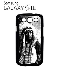 Indians Chief Native Americans Mobile Cell Phone Case Samsung Galaxy S3 Black