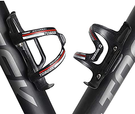 MeterMall MTB Full Carbon Fiber Bicycle Bottle Holder Side Pull Bike Cage for Road Mountain Bikes