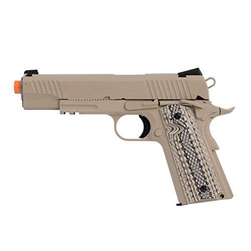 KWC 1007237 Colt 1911 Rail Pistol Co2 Full Metal Blowback - Tan