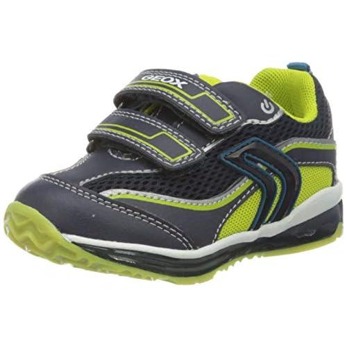 chollos oferta descuentos barato Geox B Todo Boy A Zapatillas para Niños Azul Navy Lime C0749 22 EU