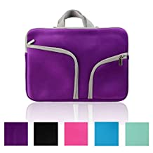 Phenas Fashion Zipper Briefcase Handbag Sleeve Bag Cover Case for Macbook Air & PRO 11 Inch & Universal Laptop Netbook 11.6 Inch