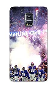 Amaiop-1308-hkrsebc Awesome New York Giants Nfl Football G Flip Case With Fashion Design For Galaxy note4 As New Year's Day's Gift