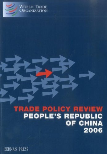 Trade Policy Review - People's Republic of China
