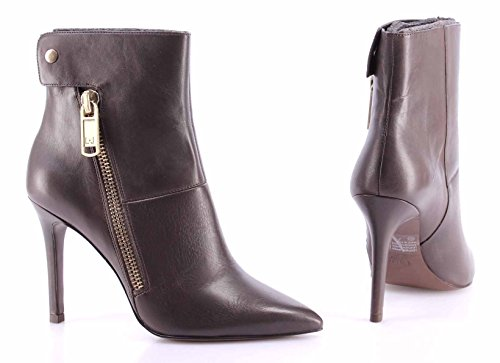 Chaussures Escarpins Bottines Femme LIU JO Brazil Coffee Stivaletto Celeste Cuir