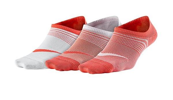 Nike 3 Pares de Calcetines Performance Lightweight Corto, Todo el año, Mujer, Color Orange/Rosa/Weiß, tamaño Small: Amazon.es: Deportes y aire libre