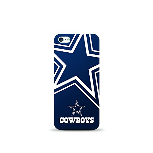 Price comparison product image Mizco Sports iPhone 5S/SE NFL Oversized Snapback TPU Case Dallas Cowboys