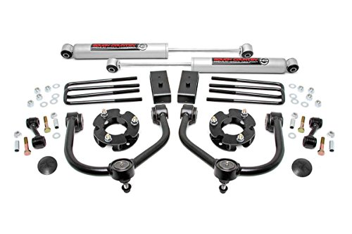 """Rough Country 3"""" Bolt-On Lift Kit with Shocks for 04-18 Nissan Titan 2WD/4WD"""