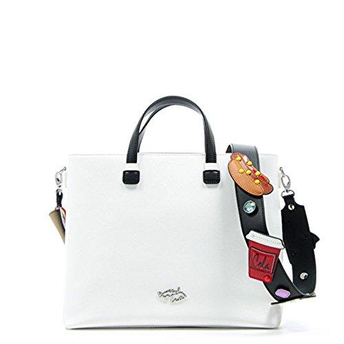 New Trendy Blanc Sac Handbag Braccialini qax78w