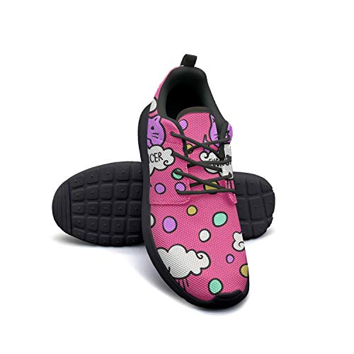 Fuck Cancer Funny Cancer Survivor Women Canvas Casual Shoes Care Tennis Shoes