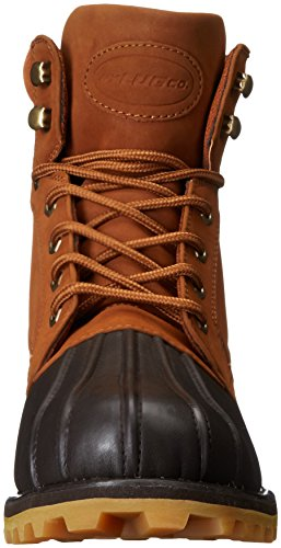 Lugz Mens Mallard Fashion Boot Ruggine / Marrone Scuro / Gomma