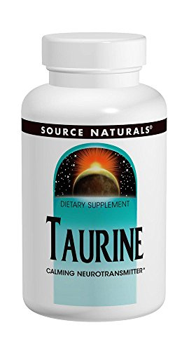 Taurine 500mg Source Naturals, Inc. 60 Tabs Review