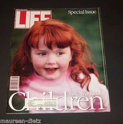 LIFE MAGAZINE, SPRING 1990. SPECIAL ISSUE, THE WORLD OF CHILDREN (Life Magazine Spring)