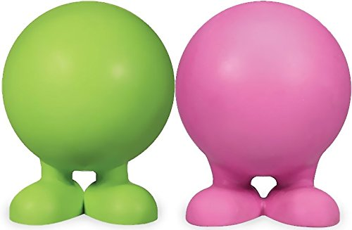 Jw Pet Rubber Balls - JW Pet Good Cuz Rubber Dog Toy (2 Pack)