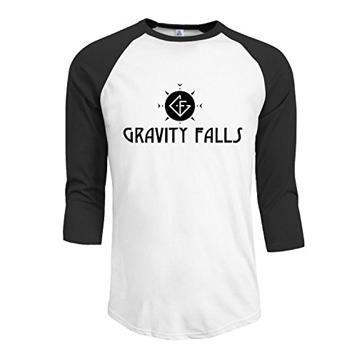 Men's Logo Gravity Fall Sans Fond Fleece Hooded Pullover - Sunglasses Clooney George