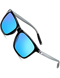 Wayfarer Sunglasses for Men Polarized Vintage Men`s Sun...