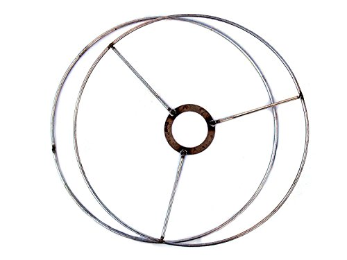 wire lamp shade rings with european fitter  make your own