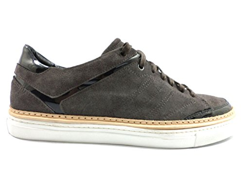 alessandro-dell-acqua-ky337-sneakers-man-12-us-45-eu-gray-black-suede-patent-leather