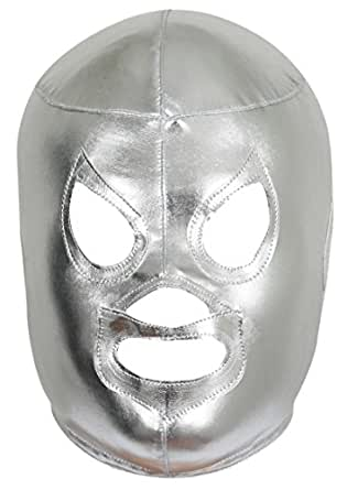 El Santo Lycra Lucha Libre Luchador Mask Adult Size