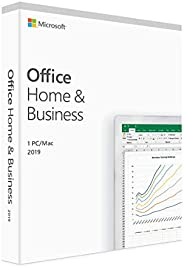 Microsoft Office 2019 Home & Business - License - 1 PC/Mac, 1 Device - Download - All Languages - Intel-ba