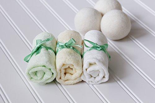 Avanchy Washcloths Hypoallergenic Chemical Softener
