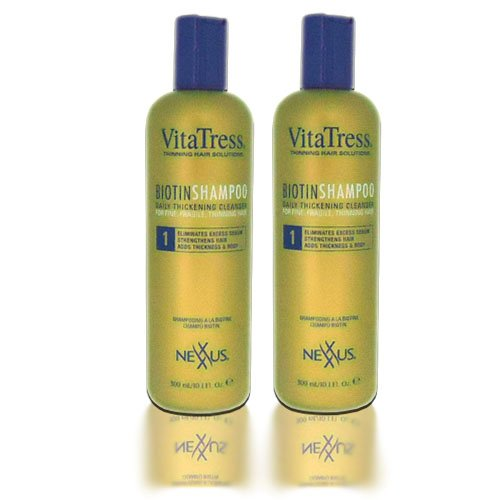 Nexxus VitaTress Biotin Shampoo 10oz ''Pack of 2''