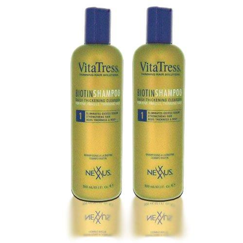 Nexxus VitaTress Biotin Shampoo 10oz ''Pack of 2'' by Nexxus Vitatress